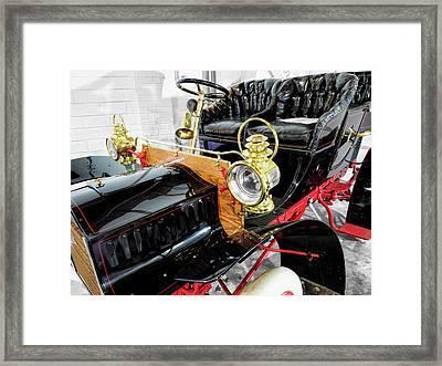 1904 Cadillac Tonneau 10 Hp V4 Framed Print