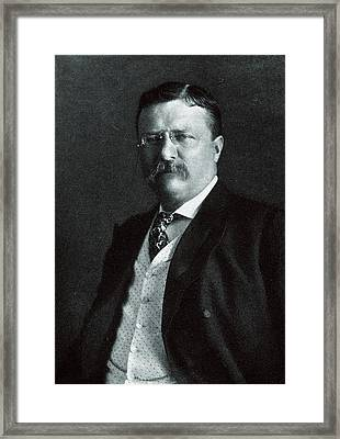 1904 President Theodore Roosevelt Framed Print by Historic Image