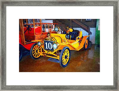1910 Ford T Speedster Framed Print by Glenn McCarthy Art and Photography