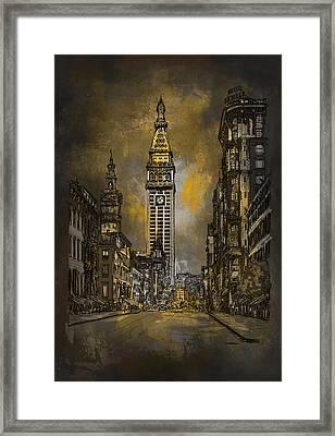 1910y Madison Avenue Ny. Framed Print by Andrzej Szczerski