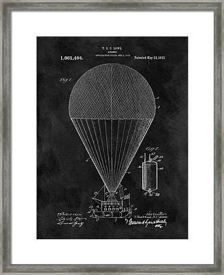 1913 Airship Patent Framed Print