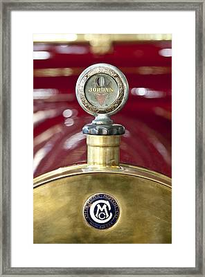 1913 Chalmers Model 18 Jordan Motometer Framed Print by Jill Reger