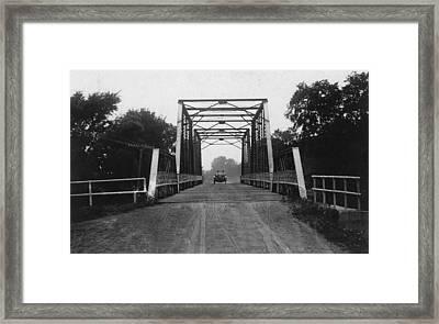 1915 Hudson Road Bridge Framed Print by Greg Joens