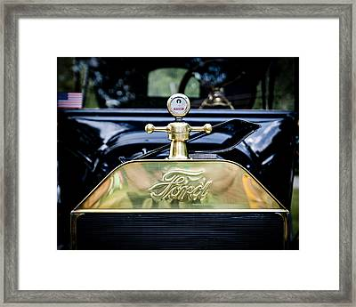 1916 Ford Model T Touring Tin Lizzie Framed Print by Jack R Perry