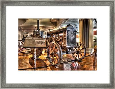 1917 Model 1 Fordson Tractor Dearborn Mi Framed Print
