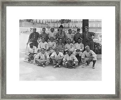 1919 San Francisco Seals Team Framed Print by Underwood Archives