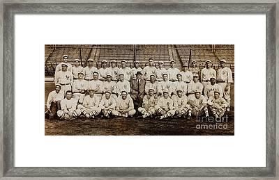 1920 New York Giants Team Framed Print