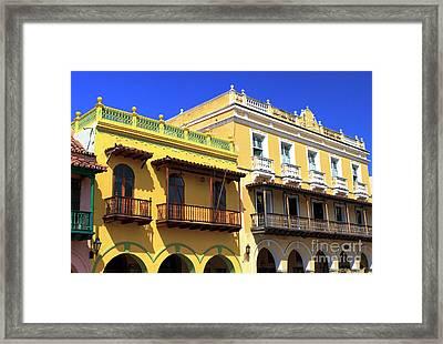 1922 Gonzalez Porto House Framed Print by John Rizzuto