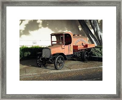 1922 Mack Truck Framed Print