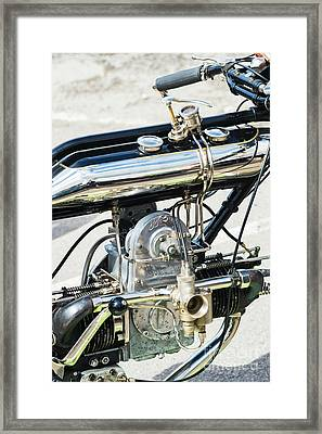 1922 Model Ws Brough Framed Print by Tim Gainey