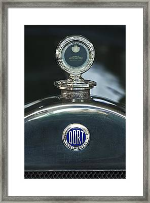 1923 Dort Sport Hood Ornament Framed Print by Jill Reger