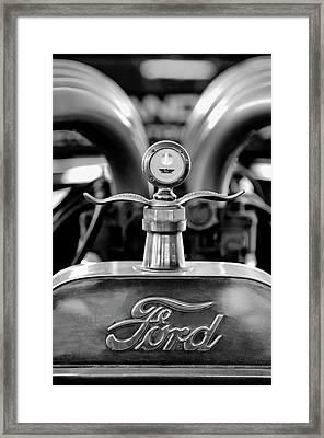 1923 Ford Hood Ornament 2 Framed Print