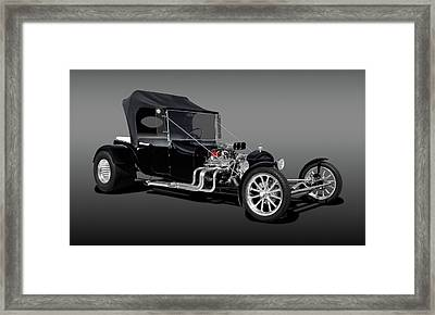 1923 Ford T-bucket  -  1923fdtbucfa9555 Framed Print by Frank J Benz
