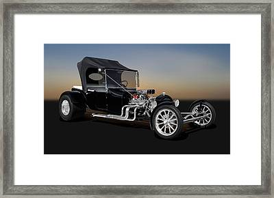 1923 Ford T-bucket  -  1923fordt9555 Framed Print by Frank J Benz