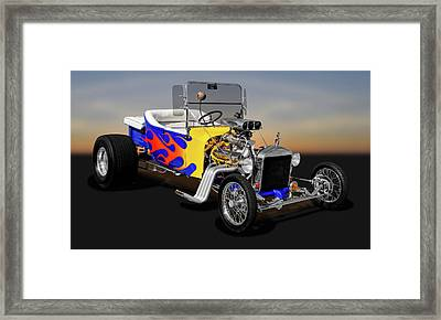 1923 Ford T-bucket  -  1923tbuckfd9558 Framed Print by Frank J Benz
