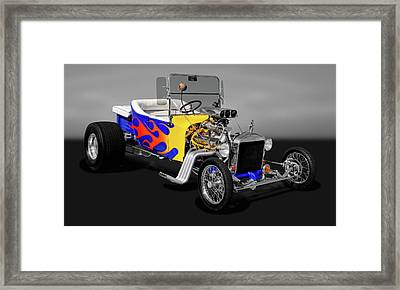 1923 Ford T-bucket  -  23fdtbuckgry9558 Framed Print by Frank J Benz