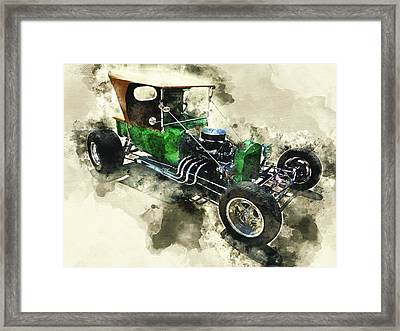 1923 Ford T-bucket Framed Print by Kevin O'Hare