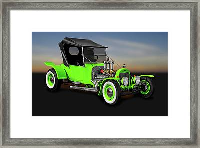 1923 Ford T-bucket Roadster  -  1923fordtbucket9997 Framed Print by Frank J Benz