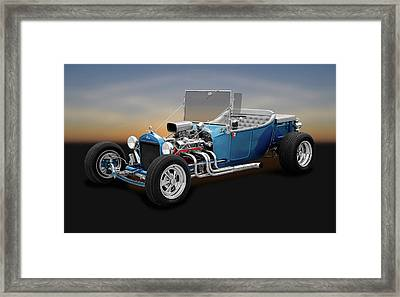 1923 Ford T-bucket Roadster   -   1923fordtbucketroadster170297 Framed Print by Frank J Benz