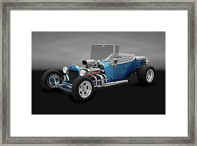 1923 Ford T-bucket Roadster  -  1923fordtbuckrdstrgry170297 Framed Print by Frank J Benz