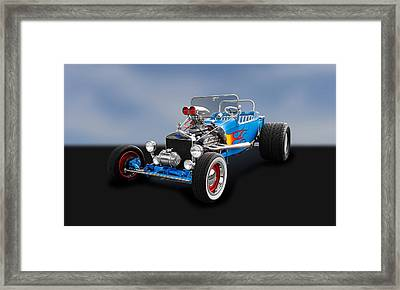 1923 Ford T-bucket Roadster   -   1923tbuc480 Framed Print by Frank J Benz