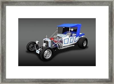 1923 Ford T-bucket Roadster  -  23tbucketfa9496 Framed Print by Frank J Benz