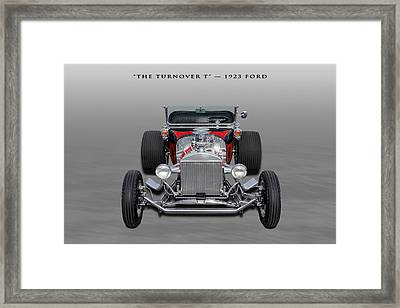 1923 Ford T-bucket Roadster - 3 Framed Print by Frank J Benz
