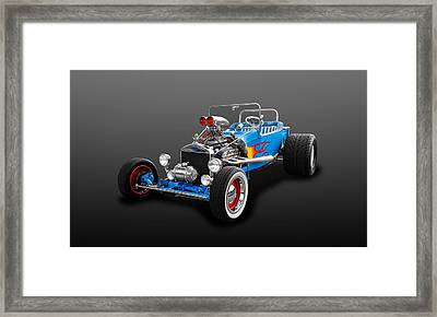 1923 Ford T-bucket Street Roadster  -  26fdtbuc490 Framed Print by Frank J Benz