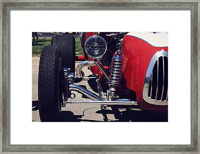 1923 Ford T Bucket Street Rod Framed Print by Toni Hopper