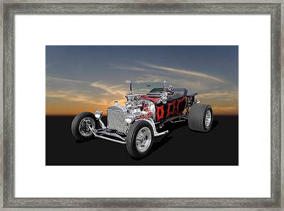 1923 Ford - Turnover T - 2 Framed Print by Frank J Benz