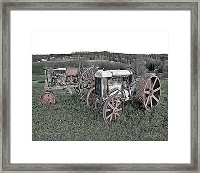 1923 Fordson Tractors Framed Print