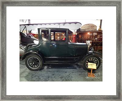 1923 Model T Coupe Framed Print by Charles Robinson