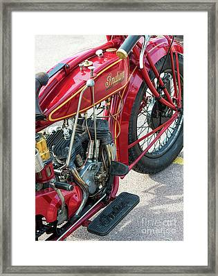 1924 550cc Indian Scout Framed Print