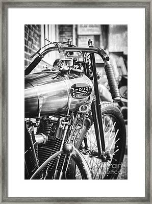 1924 Brough Superior Ktor Racer Framed Print