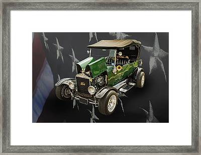 1924 Ford Model T Touring Hot Rod 5509.001 Framed Print by M K  Miller