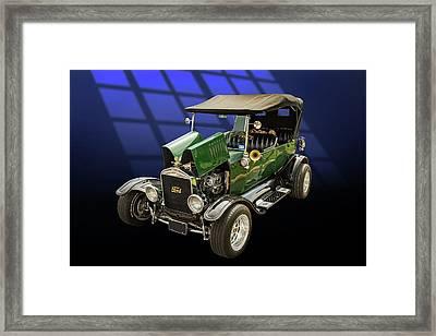 1924 Ford Model T Touring Hot Rod 5509.002 Framed Print by M K  Miller