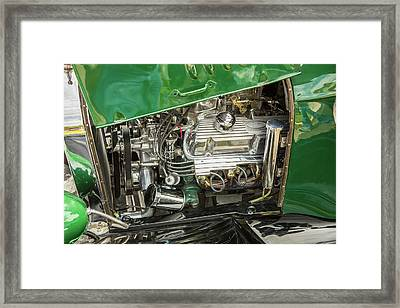 1924 Ford Model T Touring Hot Rod 5509.009 Framed Print by M K  Miller