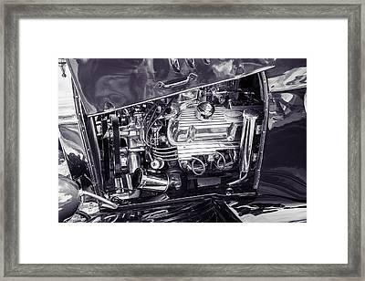 1924 Ford Model T Touring Hot Rod 5509.208 Framed Print by M K  Miller