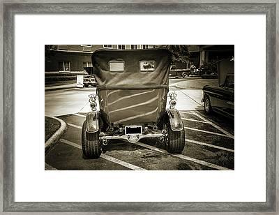 1924 Ford Model T Touring Hot Rod 5509.213 Framed Print by M K  Miller