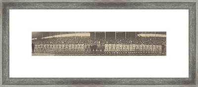 1924 Negro League World Series. Players Framed Print by Everett
