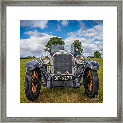 1925 Dodge Framed Print by Adrian Evans