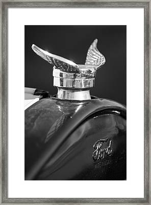 1925 Ford Model T Hood Ornament 2 Framed Print by Jill Reger