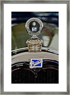 1926 Buick Boyce Motometer Framed Print by Jill Reger