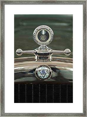 1926 Dodge Woody Wagon Hood Ornament Framed Print by Jill Reger