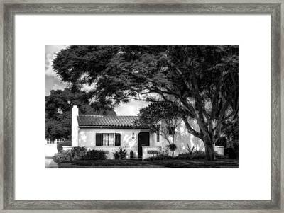 1926 Florida Venetian Style Home - 20 Framed Print
