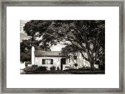 1926 Florida Venetian Style Home - 21 Framed Print