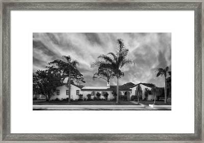 1926 Florida Venetian Style Home - 23 Framed Print