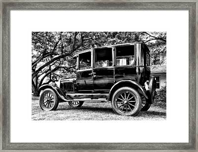 1926 Ford Model T Framed Print by Bill Cannon