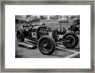 1926 Gn Parker Framed Print by Adrian Evans