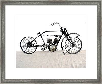 1926 James Model V Twin Framed Print by Pg Reproductions